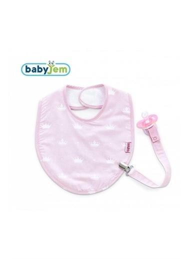 Baby Jem Emzik Askılı Mama Önlüğü Mavi